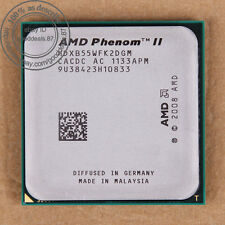 AMD Phenom II X2 B55 - 3 GHz (HDXB55WFK2DGM) Socket AM3 CPU Prozessor 533 MHz