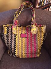 Marc by Marc Jacobs Nylon Tate Tote Chevron Bag - NWOT