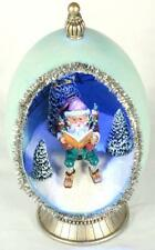 """The Christmas Story"" Figments Egg w/Light & Stand by Bobbie T."