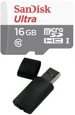 16GB Sandisk ULTRA MicroSDHC Memory Card for SAMSUNG GALAXY NOTE EDGE AVANT TAB