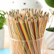 10pcs/Lot Rainbow Color Pencil 4 in 1 Colored Drawing Painting Pencils Hot Sale