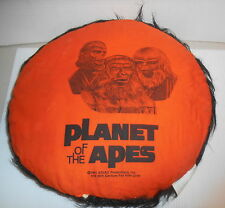 PLANET OF THE APES THROW PILLOW 1970S VERY RARE URKO CAESAR BATTLE NICE NR