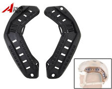 Tactical Military Fast ARC Helmet Rail Mount Black for Airsoft Hunting Paintball