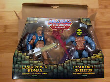 Laser Power He-Man & Laser Light Skeletor Figures Masters of the Universe Comics