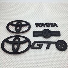 Toyota Gt86 Badges Complete Set ( Matte Black )