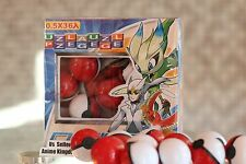 USA Seller Cosplay 36pcs Pokemon Monsters Mini Pokeball with Mini Pokemon Figure