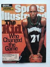Sports Illustrated Kevin Garnett Timberwolves May 3, 1999