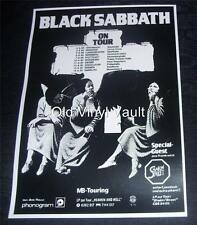 Black Sabbath  Heaven And Hell German Tour 1980  Repro Concert Poster