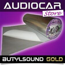 ButylSound GOLD 5MT X 50CM X 1,8MM GUAINA BUTILICA ADESIVA INSONORIZZANTE AUTO