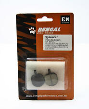 Bengal Scheiben Bremsbelag für Helix / MB 606..organisch. (2 Stück)