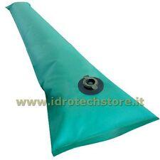 TUBOLARE SALAMOTTO SALSICIOTTO PVC 1,5 M COPERTURA INVERNALE PISCINA PISCINE