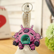 Game Overwatch Cute D.va Key Chain Key Ring Cosplay For Gift