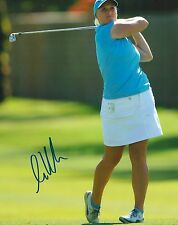 LINE VEDEL signed LPGA 8x10 photo with COA
