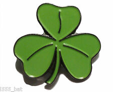 Irish Shamrock 3 Leaf Clover St Patrick Ireland Symbol Metal Enamel Pin Badge