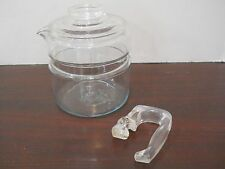 #L Pyrex Flameware 4 Cup Stove Top Coffee Percolator Pot Lid Handle Replacement