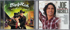 Big & Rich - Hillbilly Jedi [CD] & Joe Nichols - Greatest Hits [CD] 2 New CDs