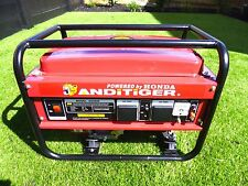 NEW  HONDA GX 160 POWERED PETROL SINGLE PHASE 240V GENERATOR 2.5 KVA  2500 W