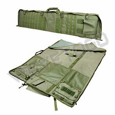 VISM NcSTAR Tactical Rifle Case Range MOLLE PVC Hunting Shooting Mat Combo Green