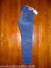 LEVIS VINTAGE CLOTHING 606 LVC 1960 Made in USA Big E Talon Slim Fit Jeans 38X34