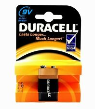 1 x Duracell 9V PP3 Plus Power Batteries, Smoke Alarms (LR22, MN1604, 6LR61)