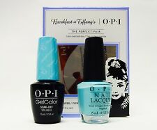 OPI BREAKFAST at TIFFANY  GelColor/Nail Polish I Believe in Manicures GCH01+ H01