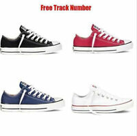 Women Lady Conver ALL STARs Chuck Taylor Ox Low Top shoes casual Canvas Sneakers