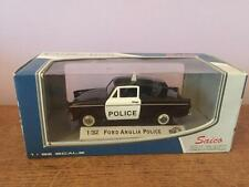 SAICO DIECAST SCALE MODEL 1/32 NEW IN BOX - FORD ANGLIA POLICE CAR