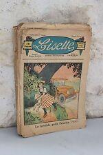 Lot anciennes revues LISETTE - Année 1933 - Journal des fillettes - 26 numéro
