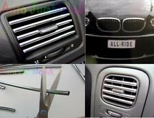 CHRYSLER Crossfire Chrome effect air vent car styling GRIL strip U shape profile
