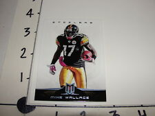 Mike Wallace / 2012 MOMENTUM #19 Platinum SP #/49 Dolphins - Steelers - Ole Miss