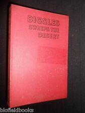 BIGGLES SWEEPS THE DESERT by Captain W E Johns - 1950, Boy's Novel, Studio Stead