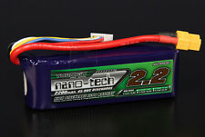 Turnigy Nano-Tech 2200mAh 4S 14.8V 45C 90C LiPo Battery Pack RC Air Helio Quad