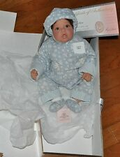 """VINTAGE LEE MIDDLETON BABY DOLL""""BABY BLUE WITH BIBLE"""" LTD ED 800/1000 W/ORIG BOX"""