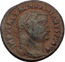 Galerius 308AD Alexandria mint RARE  Ancient Roman Coin Genius Cult   i56512