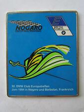BMW CLUB EUROPATREFFEN 1994 NOGARO BARBOTAN FRANKREICH - BADGE PLAKETTE PLAQUE