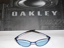 05-783 Vintage Oakley Unisex Teaspoon Sunglasses  Blue/Blue-Black Irid  NWOT