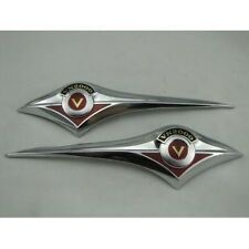Motorcycle Gas Tank Emblem Badge Chrome for Kawasaki Vulcan VN Classic VN2000