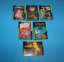 Team Blockbuster Video Game Cards Series #1  ( 6 different )  Vintage 1993