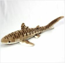 "Wishpets Tiger Shark Plush Toy 26"" Brown"