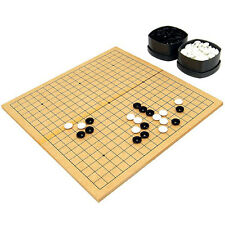 Baduk Go Board Game WeiQi Xiangqi Chinese Chess Game Full Set Wooden Foldable ko
