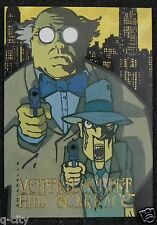 VENTRILOQUIST & SCARFACE 1995 Prototype Card SkyBox DC Villians Dark Judgment