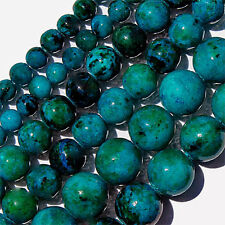 CHRYSOCOLLA ROUND BEADS 6MM BEAD STRANDS TEAL BLUE GREEN