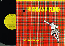 The Alexander Brothers HIGHLAND FLING LP PYE Golden Guinea GGL0093 Celtic Folk