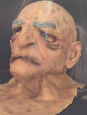 Halloween Old Man Rubber Mask Mario Chiodo Studios Full head 2006