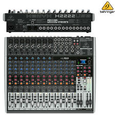 Behringer Xenyx X2222USB Premium Audio Interface Mixer NEW l Authorized Dealer
