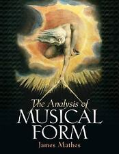 The Analysis of Musical Form, Mathes, James R., Acceptable Book