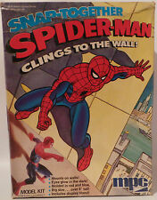 MARVEL SUPERHEROES :SPIDER-MAN SNAP-TOGETHER MODEL KIT MADE BY MPC 1978 (MLFP)