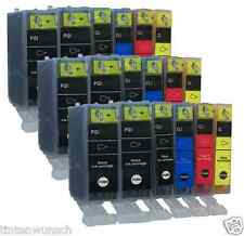 18 Printer Cartridges for Canon pixma iP4950 IP 4950 MG5250 iX6550 with Chip