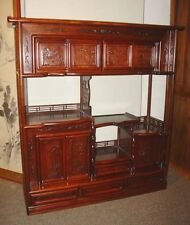 Chinese Rosewood Display Cabinet Cha Tansu SALE 30% OFF $945