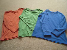 New 3 Long Sleeved Tops by Next in Size 4 -5 Years. (Height 110cm)